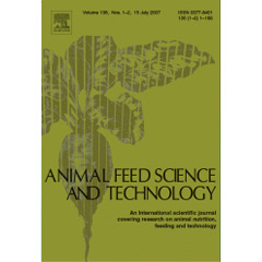 Animal Feed Science And Technology Volumes 123-124