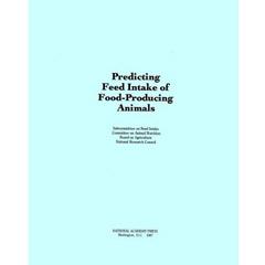 Predicting Feed Intake of Food-Producing Animals