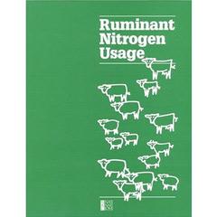 Ruminant Nitrogen Usage