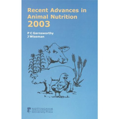 Recent Advances in Animal Nutrition 2003 (Hardcover)