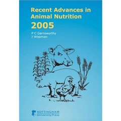 Recent Advances in Animal Nutrition 2005 (Hardcover)