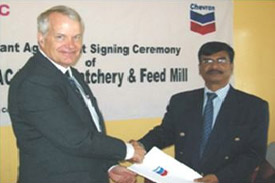 Grant received for BRAC Poultry Hatchery and Feed Mill Project