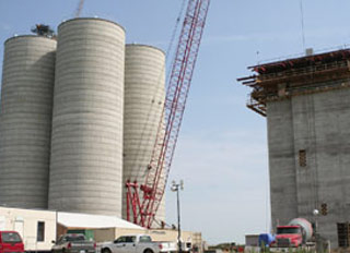 Magnolia feed mill construction on schedule