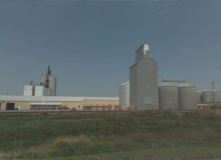Demolition begins on FAC's No2 grain elevator