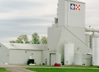 Agribrands Purina Canada open horse feed mill