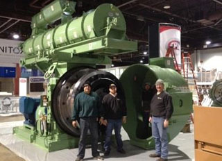 CPM launches worlds largest pellet mill at IPPE 2014