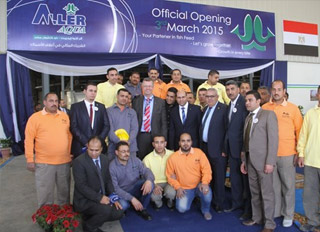 Aller Aqua holds grand opening for Egyptian feed plant