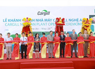Cargill opens 11th feed mill in Vietnam, USD $8.5 million feed mill in Nghệ An