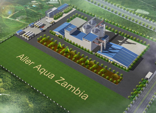 Aller Aqua continues expansion in Africa with plans for USD$10 million fish feed plant in Zambia