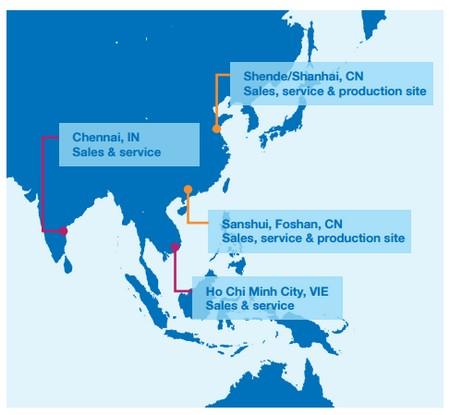 Andritz in Asia