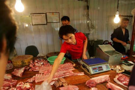 China Adopts Contingency Plan to Stabilize Pork Price