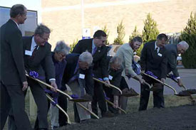 K-State Breaks Ground on New O.H. Kruse Feed Mill and BioRefinery
