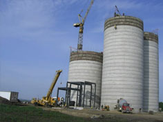 Construction of new vision magnolia feed mill